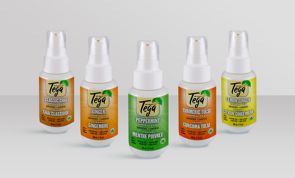 Tega Tea Flavour Squirts