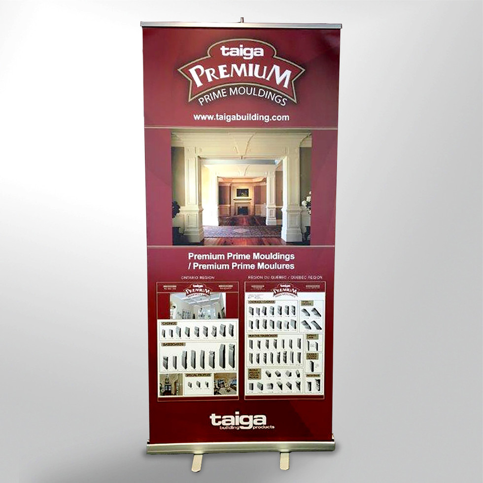 Taiga Building Products Popup