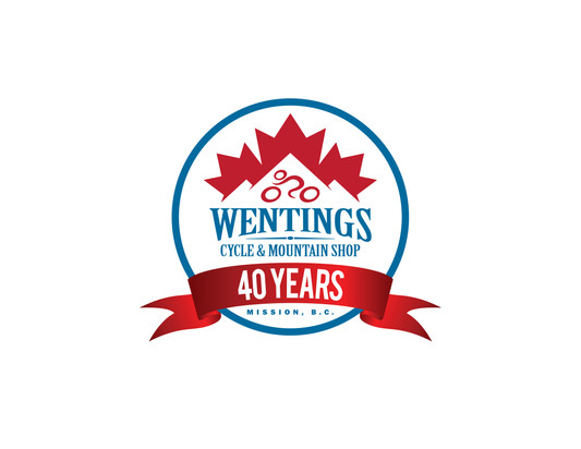Wentings 40th Logo