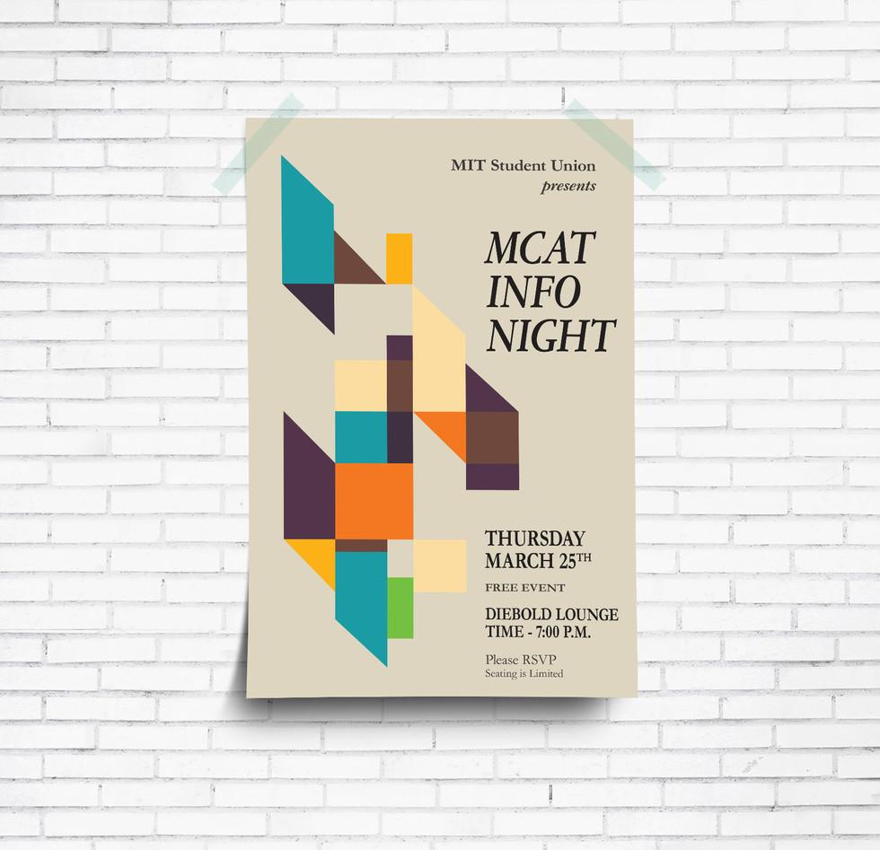 MCAT Info Night Poster