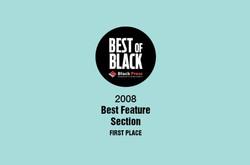 2008 Best of Black Award
