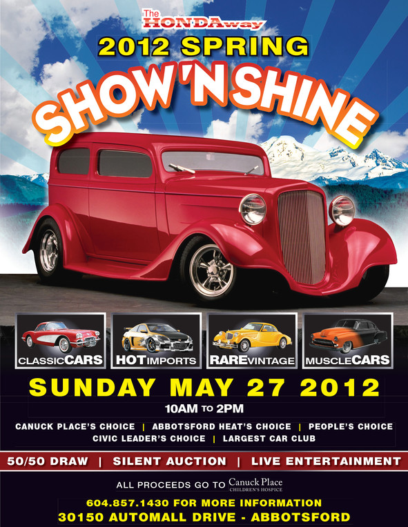 Honda Way Show N Shine Poster