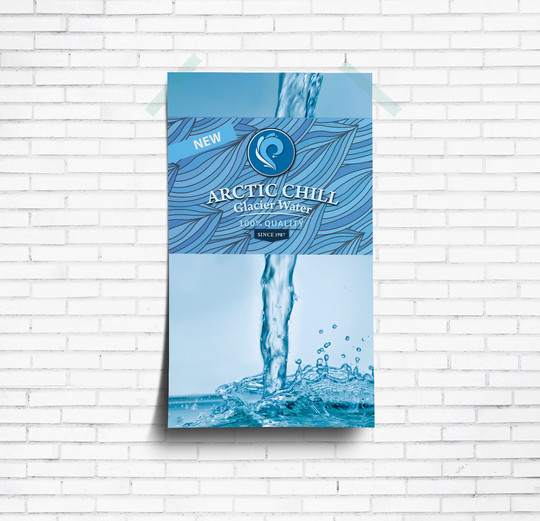 Arctic Chill Water Poster