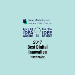 2017 Great Idea Award