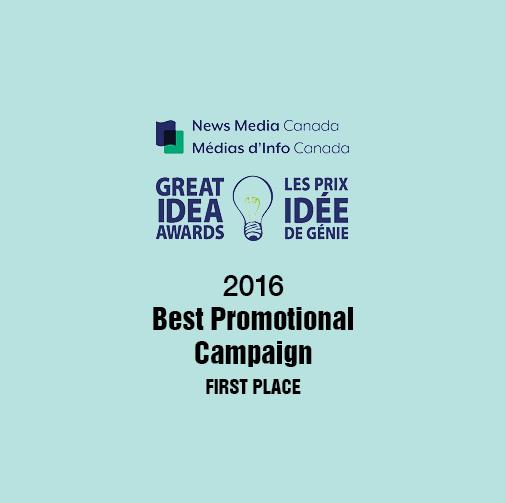 2016 Great Idea Award