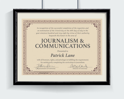 Journalism & Communications Diploma