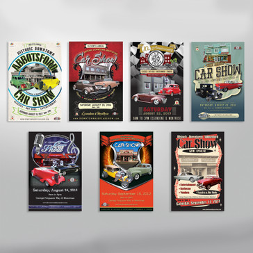 Abbotsford Downtown Car Show Posters