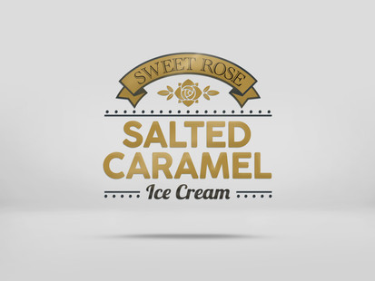 Sweet Rose Salted Caramel Ice Cream Logo