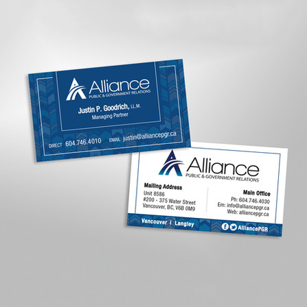 Alliance Business Card