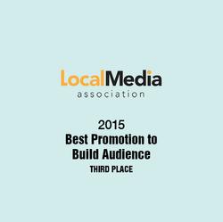2015 Local Media Assoc. Award