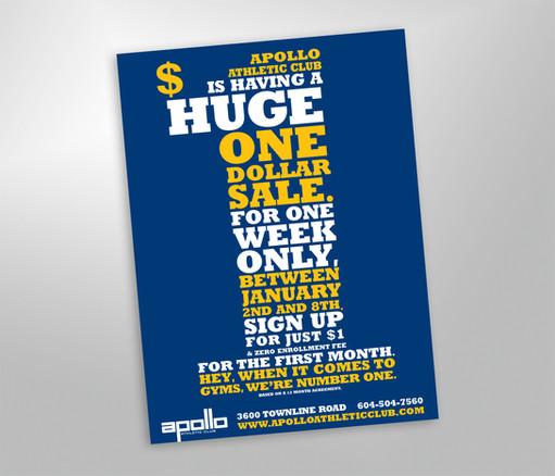 Apollo Athletic Club Advertisement