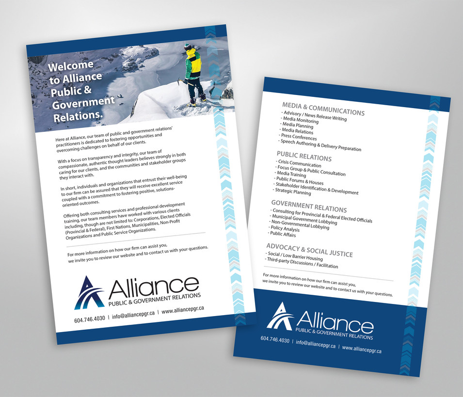 Alliance Pamphlet