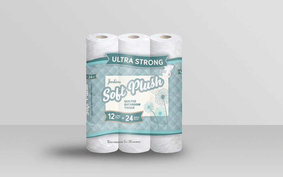 Soft Plush Toilet Paper