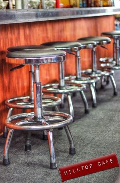 Hilltop Diner Cafe Interior
