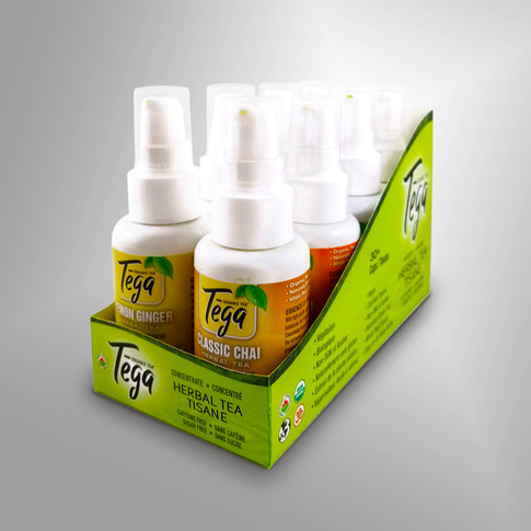 Tega Tea - Box Design