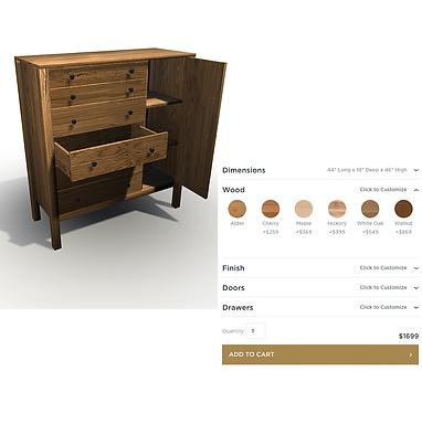 CONFIGURATEURS 3D WEB