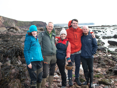 Fishing and Foraging Wales - The beginning of my year - April 2019