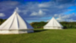 Bell Tents provided by Fishing and Foraging Wales