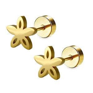 Boucles d'oreilles pour fille-Fleur