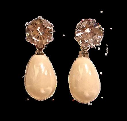 Boucle oreille perles