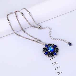 Collier Maelys Bleu