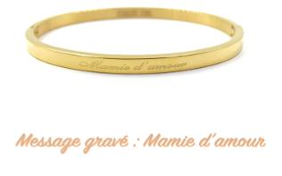 BRACELET MAMIE D'AMOUR