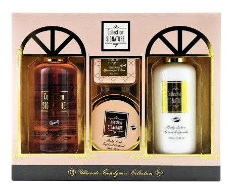 Coffret de bain parfum karité,vanille,menthe citronnée