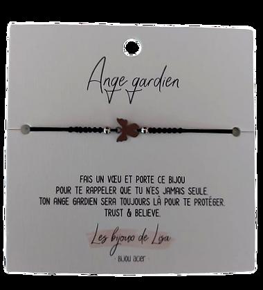 Bracelet message Ange Gardien