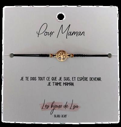 Bracelet message Maman