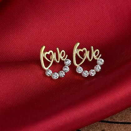 Boucle Oreille Love