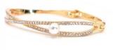 Bracelet femme doré