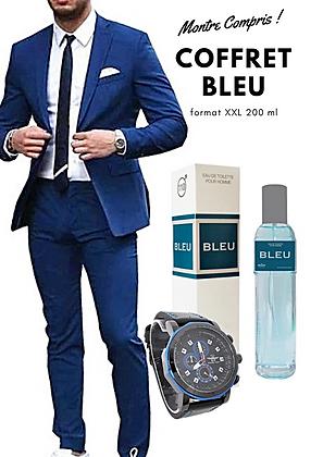 Coffret parfum Bleu Homme