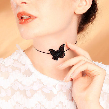 Collier Butterfly