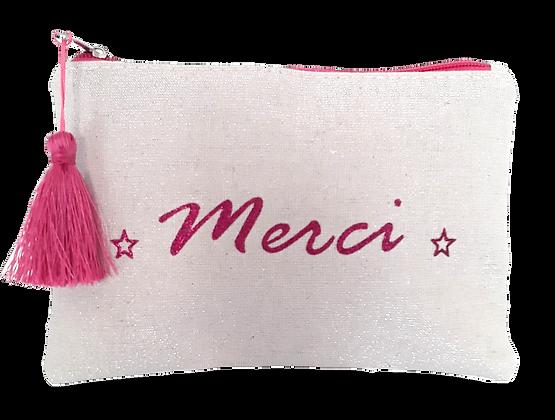 Pochette message Merci