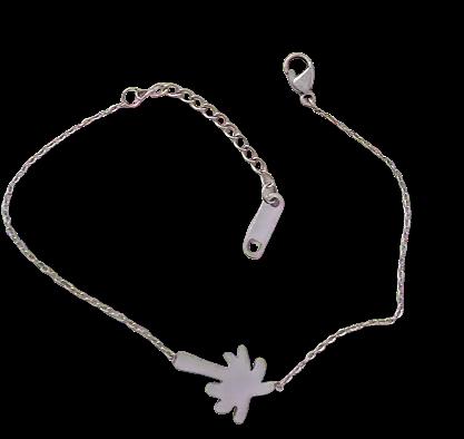Bracelet Palmier Acier