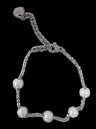 Bracelet Argent Perle