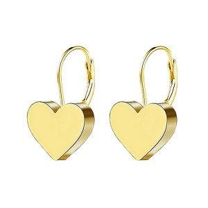 Boucles d'oreilles pour fille- Coeur