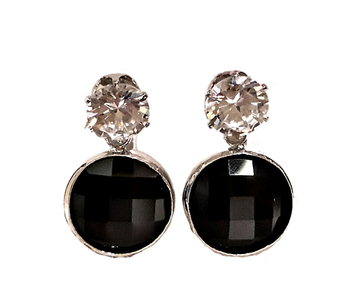 Boucle oreille strass
