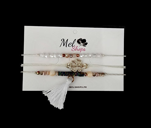 Lot bracelet fantaisie