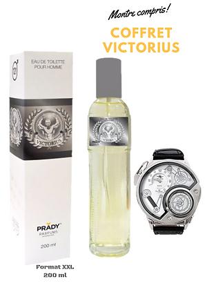 Coffret parfum VICTORIUS  Homme