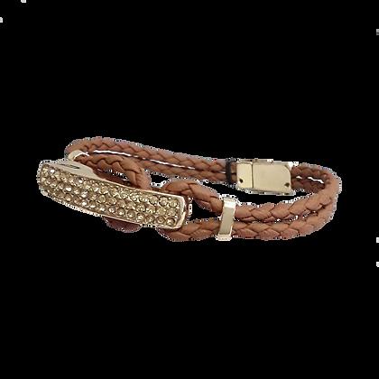 Bracelet simili cuir homme