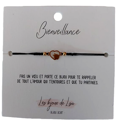 Bracelet message Bienveillance