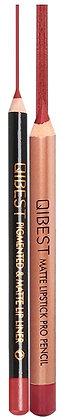 Ensemble crayon à lèvres et rouge à lèvres