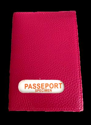 Porte passeport cuir de vachette