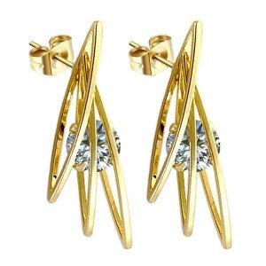 Boucles d'oreilles pour femme - Diamant cz