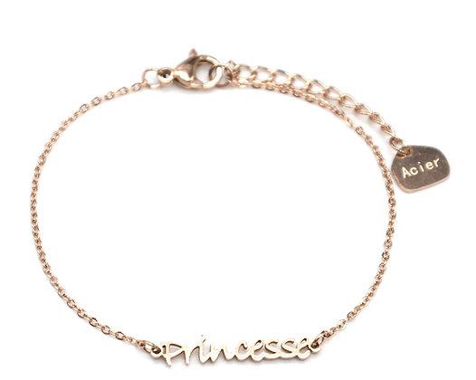 Bracelet PRINCESSE en Acier inoxydable