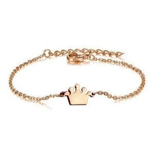 Bracelet pour fille-Petite couronne