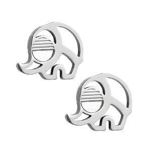 Boucles d'oreilles pour fille-Eléphant