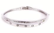 Bracelet femme argenté