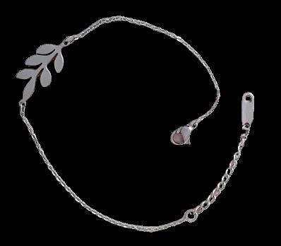 Bracelet en Acier 316 Feuille